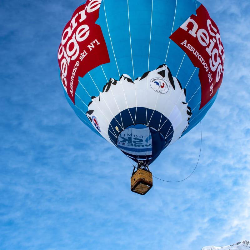 Vol captif en montgolfière