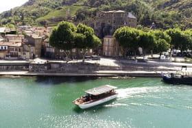 Croisière sur le Rhône avec Les Canotiers BoatnBike
