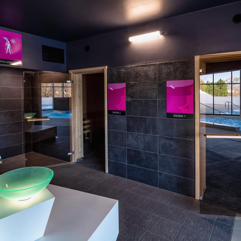 Centre aqualudique : univers balneo