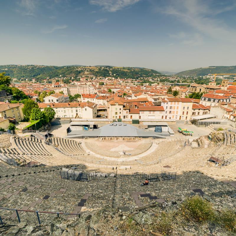 Vue sur le théâtre antique