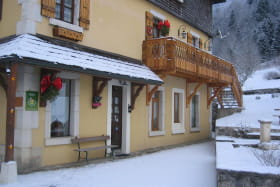façade hiver