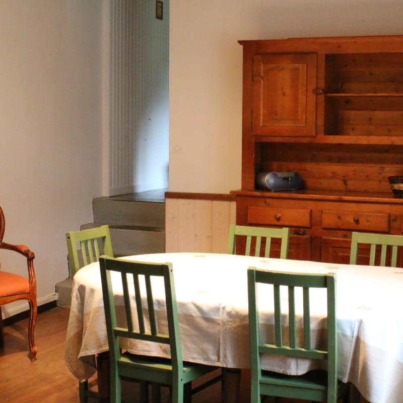 Salle à manger du Petit Arche du Trièves