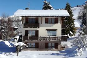 Chalet situé à 1000m d'altitude , d'accès facile et à proximité du domaine skiable