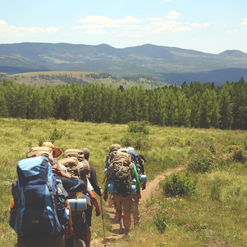 randonnée avec guide