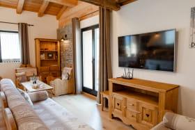 Magnifique appartement style chalet au coeur d'Aussois