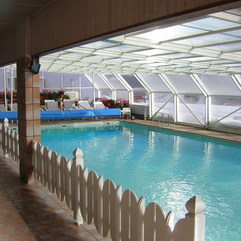 piscine des Soldanelles en hiver