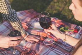 dégustation de vin à deux