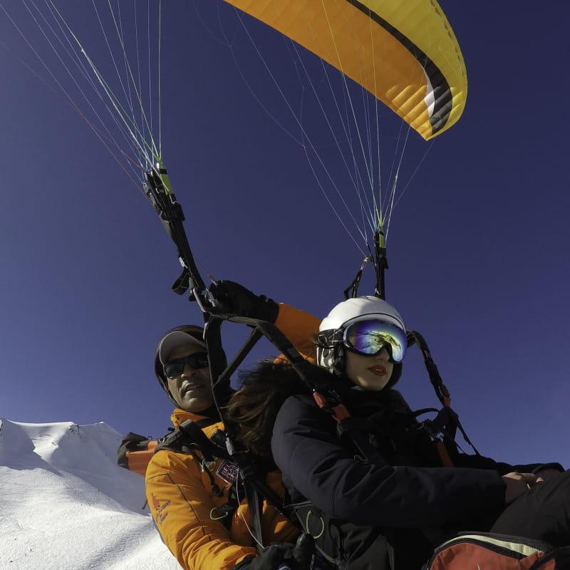 Vol en parapente avec Plagn'Air