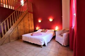 Chambres d'Hôtes La Bergerie à Pollionnay dans le Lyonnais - Rhône : la Chambre