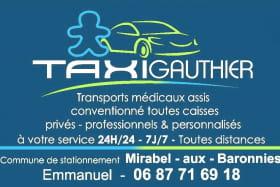 Taxi Gauthier