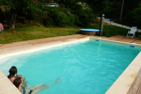 piscine chauffée 4 x 7m