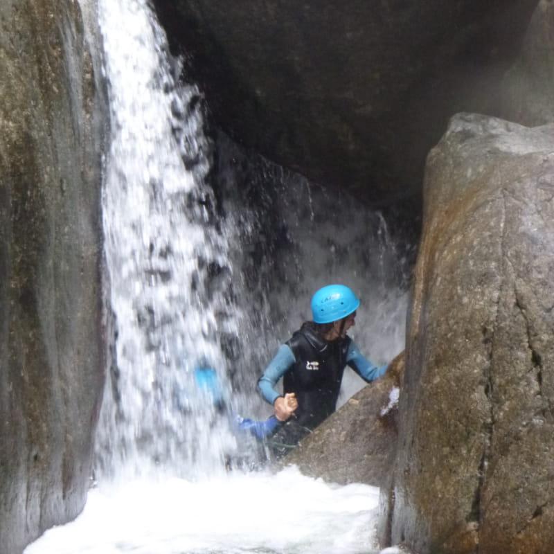 Canyon aventure : Haut Chassezac Intégral journée - Explo