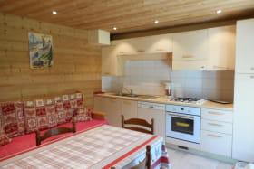 Cuisine appartement Mont de Grange