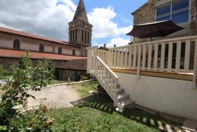 Terrasse et Jardin Gîte Le Meyve