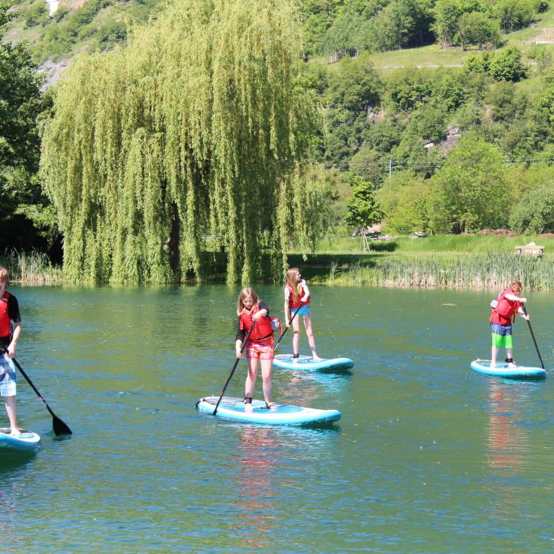 stand up paddles plan d'eau de Centron