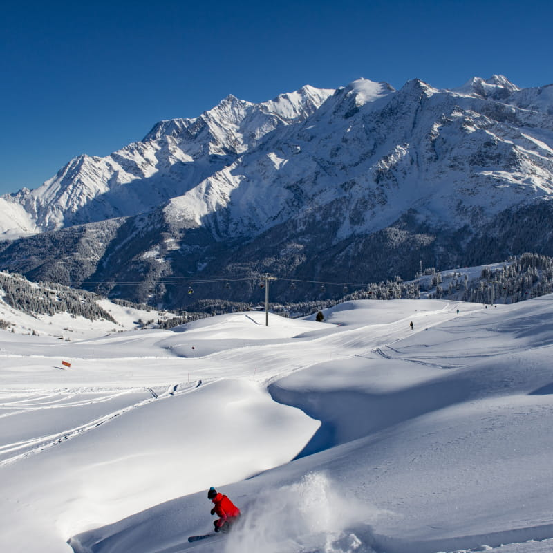 Cours collectifs de ski alpin adultes