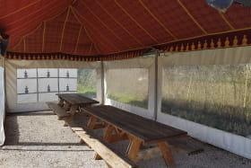 Les Tentes Caïdales de l'Espace Eau Vive - Porcieu