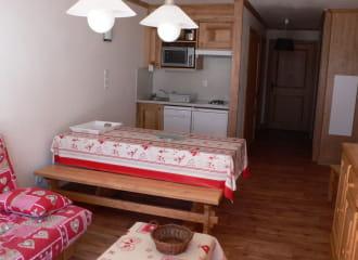 Résidence L'Edelweiss - Appartement 3 pièces cabine 6 personnes - ED01