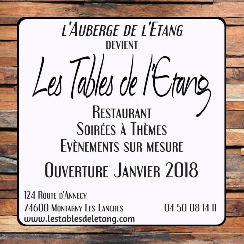 Les Tables de l'Etang