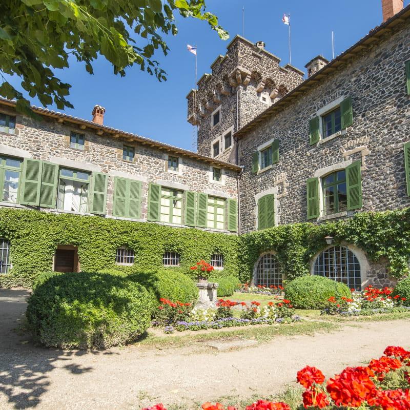 Jardin du Château de Chavaniac-Lafayette