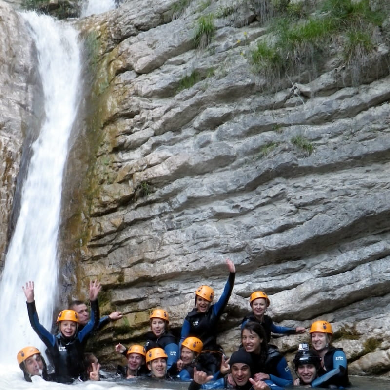 Canyoning avec Isère Verticale