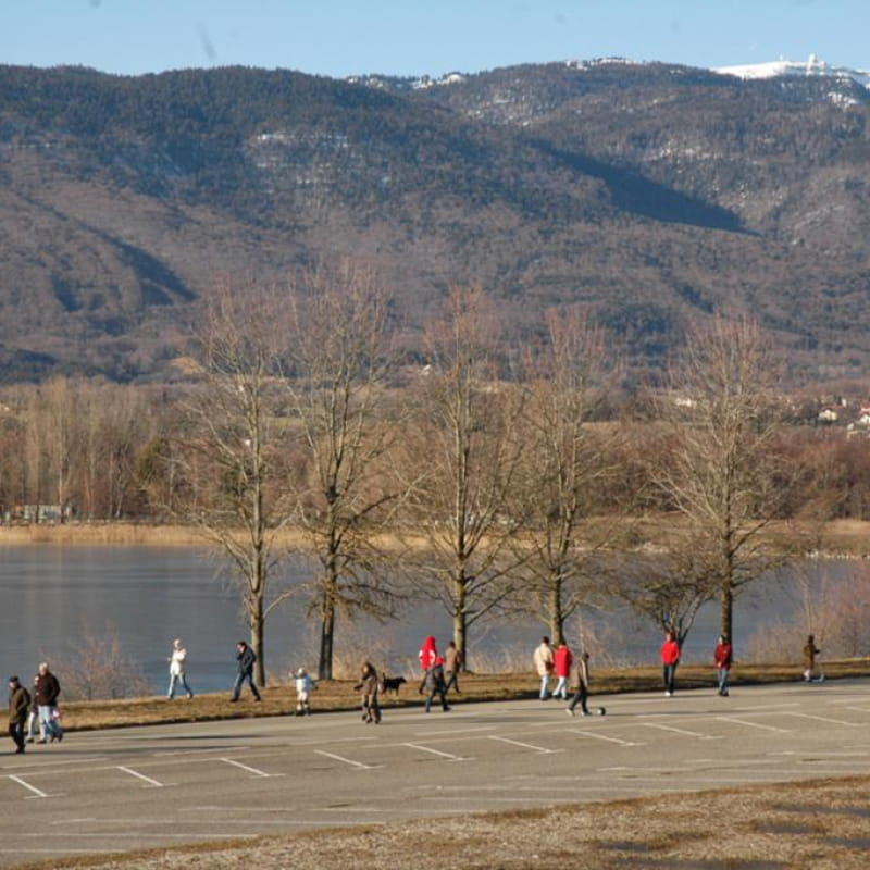 Marche au lac