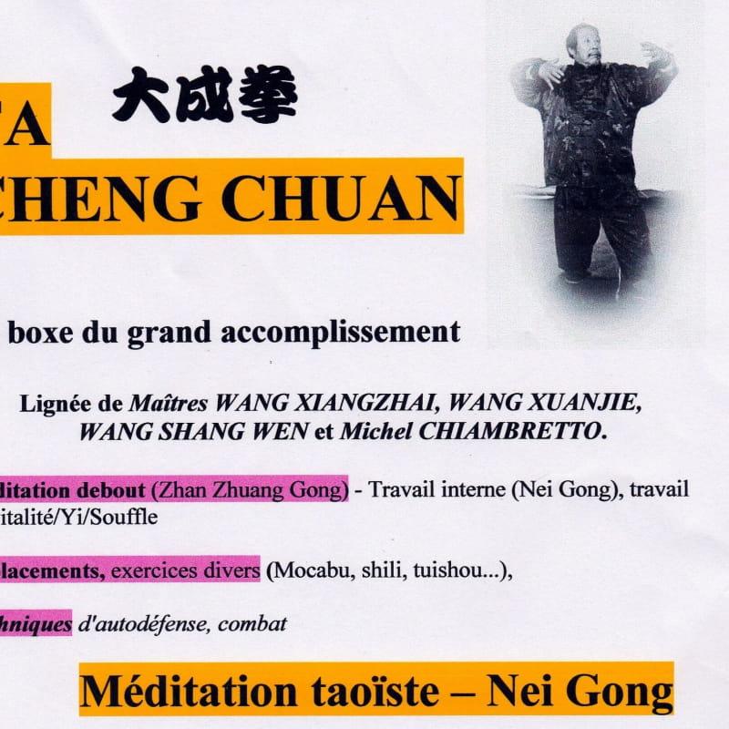 affiche Ta Cheng Chuan art martial
