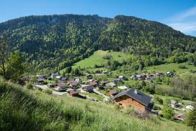 Le village de La Vernaz