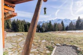 Vue imprenable sur le massif du Mont-Blanc