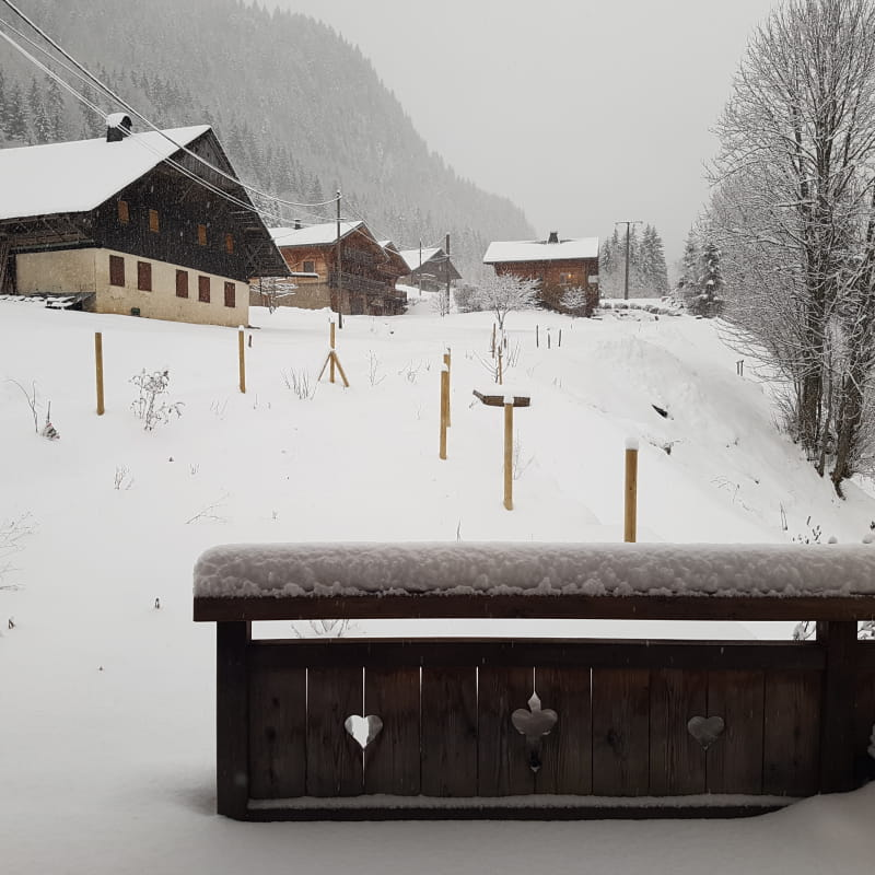 Chalet location hiver Abondance