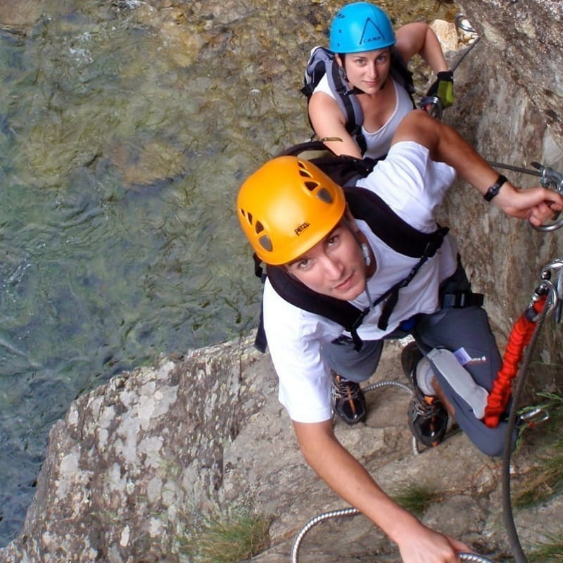 Via Ferrata of Thueyts - GECCO Aventure