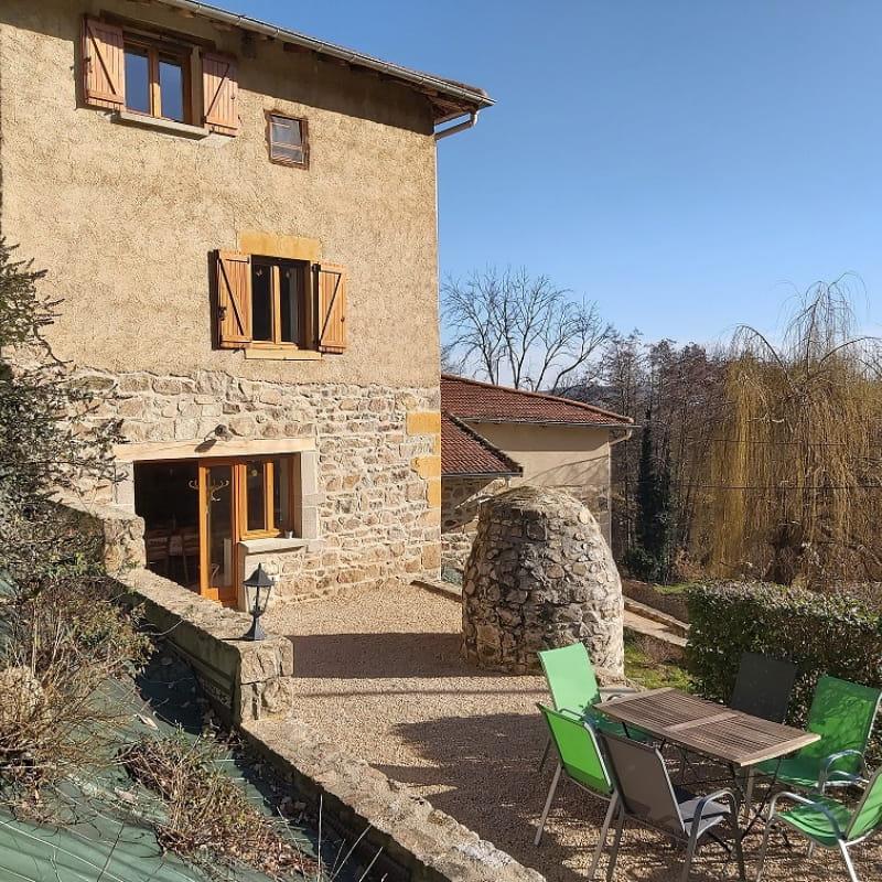 Gîte 'L'Echilette' à Montrottier (Rhône - Monts du Lyonnais) : Bienvenue !