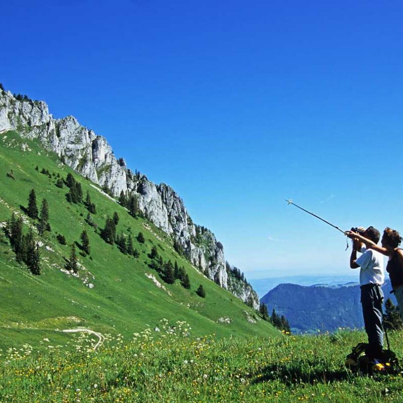 Randonnée au Mont-Ouzon