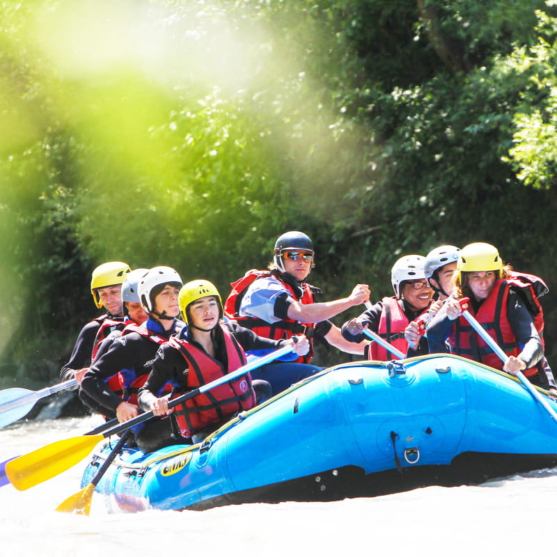 Rafting avec Session Raft