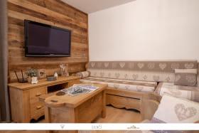 Magnifique appartement moderne et cosy style chalet, au coeur de la station d'Aussois.