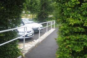 Rampe d'accès parking-gite