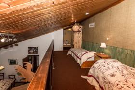 Mezzanine avec chambre