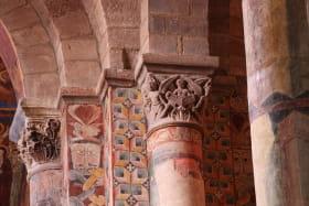 Fresques et chapiteaux