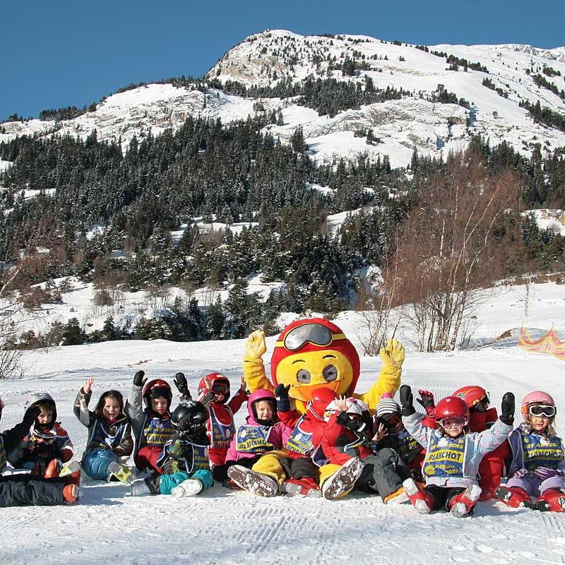 Ecole du ski français - enfants