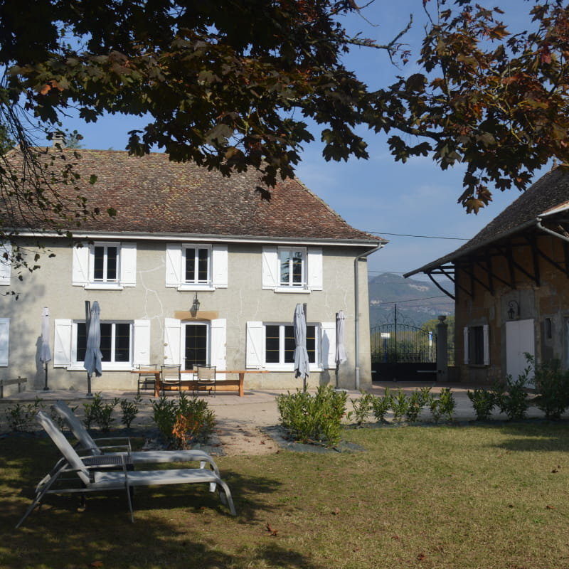 Domaine du Chaffard - Chambres d'Hôtes aux Avenières
