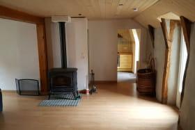 Appartement Le Sioulot Orcival salon
