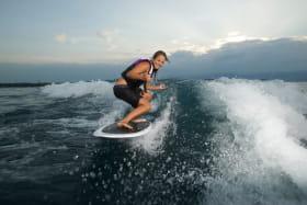Wakeboard sur le Léman