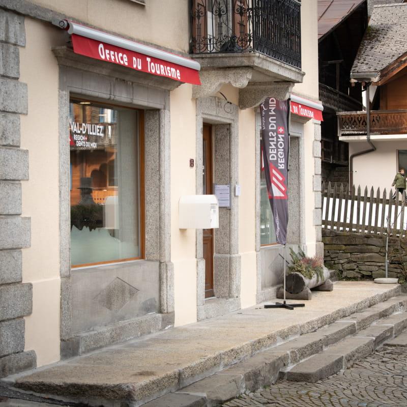 Office du tourisme RDDM à Val-d'Illiez