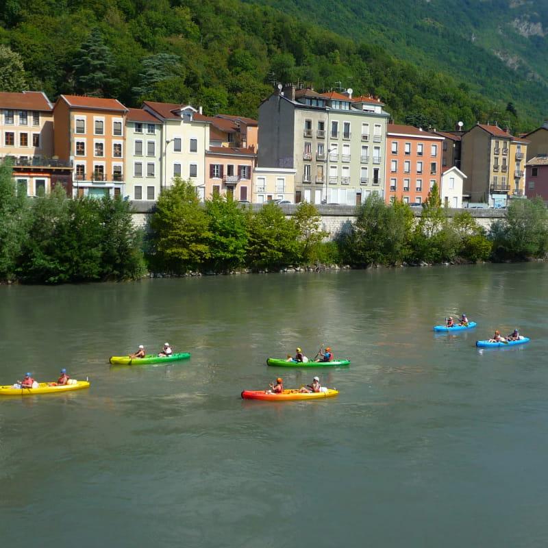 Canoë - Traversée de Grenoble
