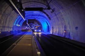 Tube modes doux - tunnel de la Croix-Rousse