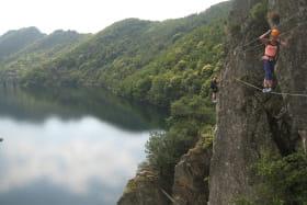 Via Ferrata avec Face Sud - Lac de Villefort