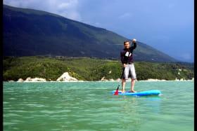 Stand Up Paddles au Lac de Monteynard