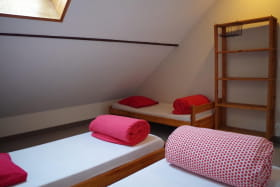 Chambre de trois places, dans l'appartement