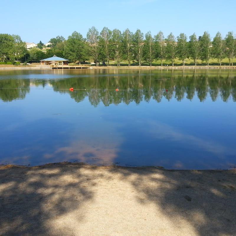 Plage du Lac aux Ramiers