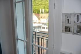 Vue balcon intéressante pour les curistes.